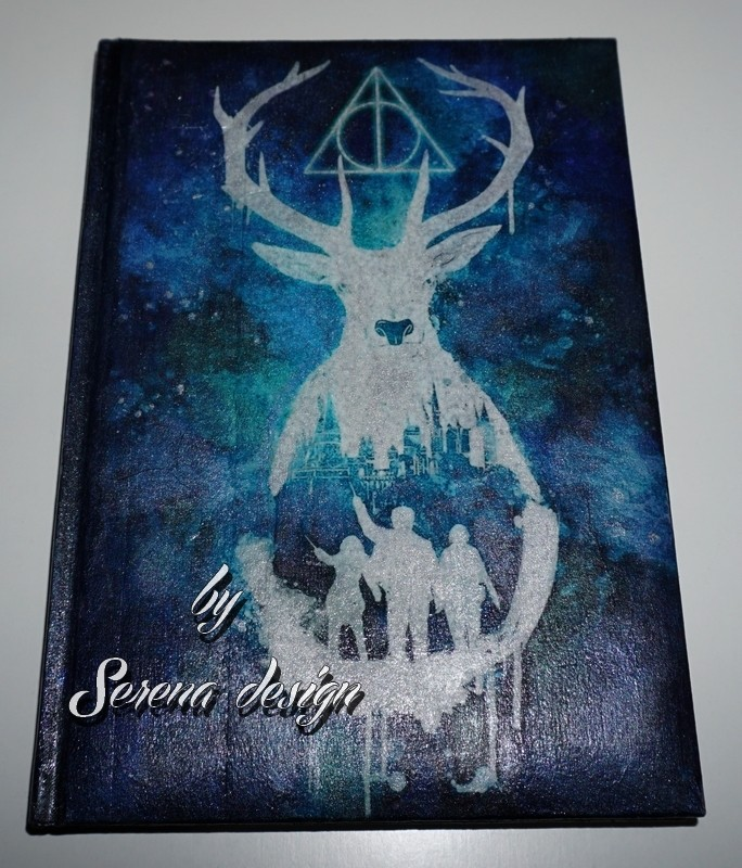 Agenda decorata si pictata HARRY POTTER